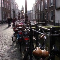 Wild Bicycle Parking in Utrecht