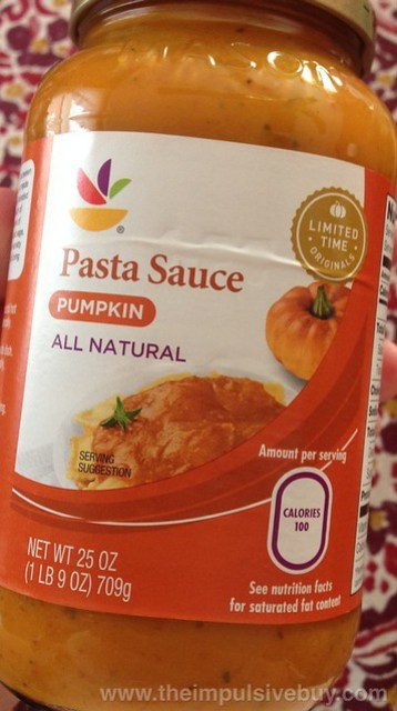 Giant Limited Time Originals Pumpkin Pasta Sauce