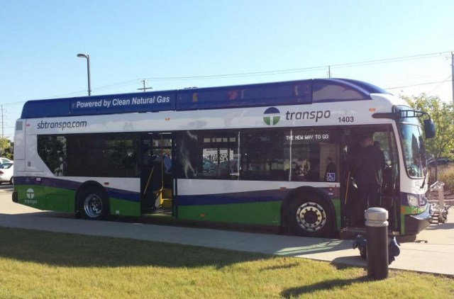 Transpo Compressed Natural Gas Bus