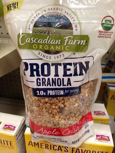 Cascadian Farm Apple Crisp Protein Granola