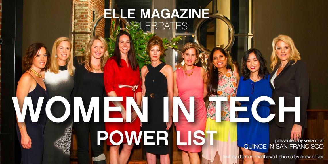elle magazine women in tech