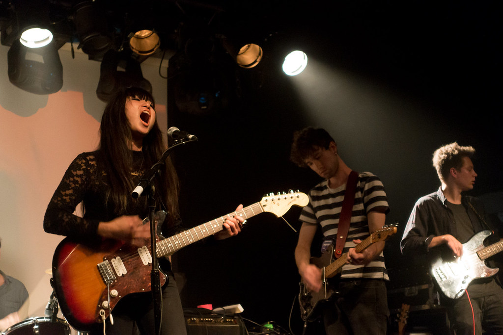 Parlour supporting Ringo Deathstarr at the Garage