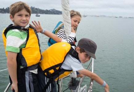 With Natalie and Decker in Sausalito