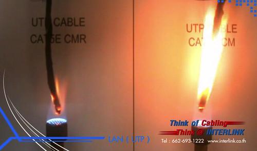 Cable Burn Test CMR vs CM