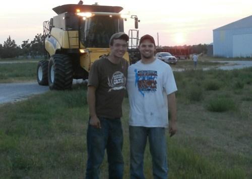 Brandon and James