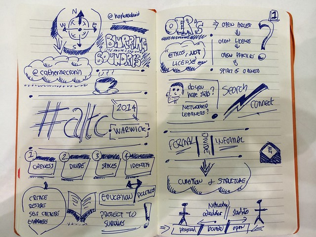Catherine Cronin Keynote #ALTC: Navigating the Marvellous - Openness in Education, page 1