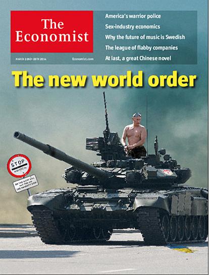14h29 Portada Economist Nuevo orden mundial del 22 marzo 2014