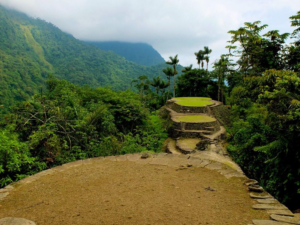 Cordillera Yunque El Map Puerto El Rico Parque La Nacional Central