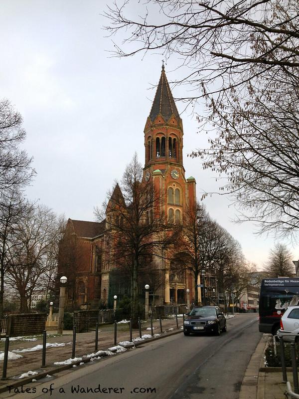 ESSEN - Kreuzeskirche