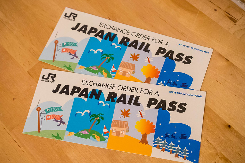 Orden de intercambio para obtener el JR Pass una vez en Japón