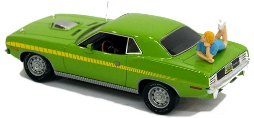33 43street Dodge Challenger 1971