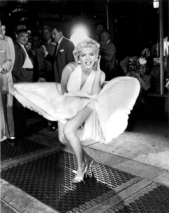 Marilyn Monroe Lexington Subway Image