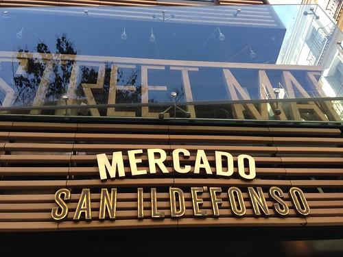 Mercado San Ildefonso, Malasaña. Madrid
