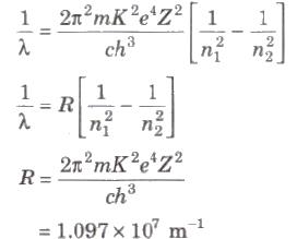 CBSE Class 12 Physics Notes : Atomic Physics