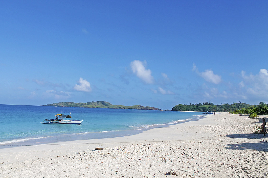 Mahabang Buhangin Beach in Calaguas Group of Islands