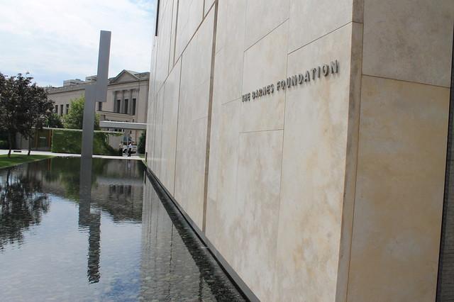 Entrada a The Barnes Foundation