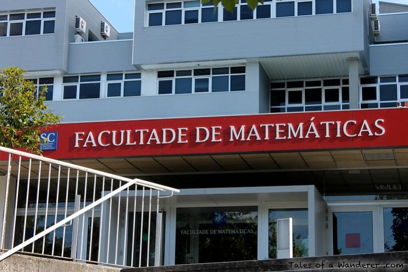 SANTIAGO DE COMPOSTELA - Facultade de Matemáticas