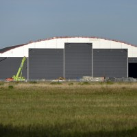 New Norwegian hangar