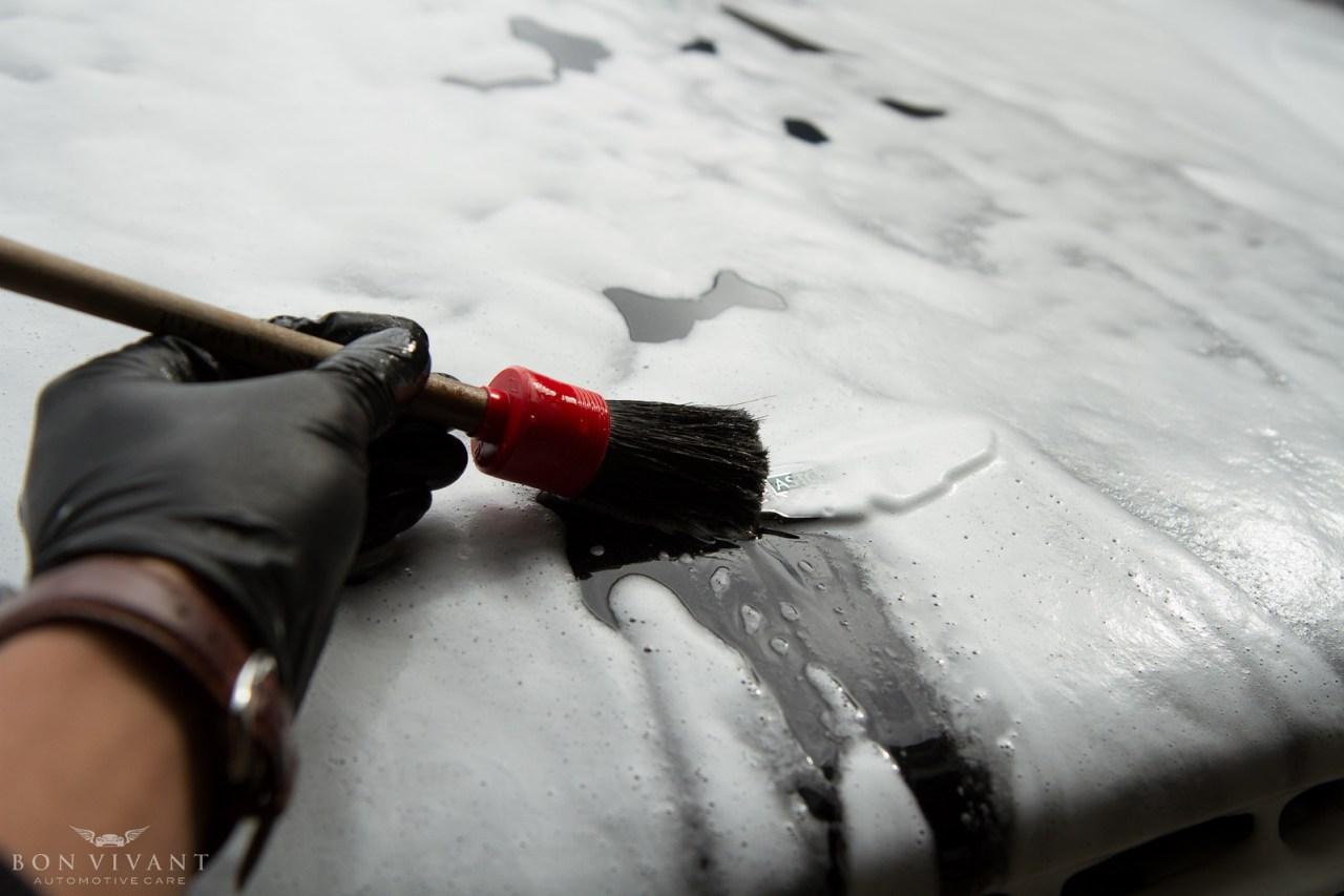 Aston Martin brushwork