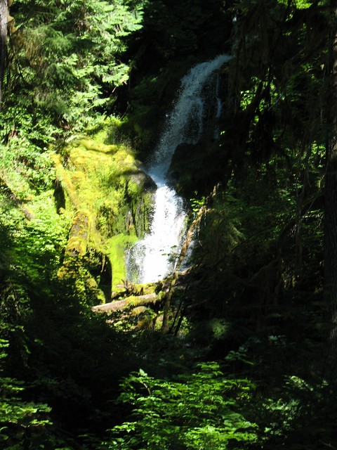 First Waterfall On Trail
