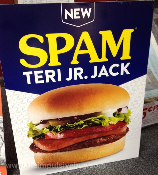 Jack in the Box Spam Teri Jr. Jack