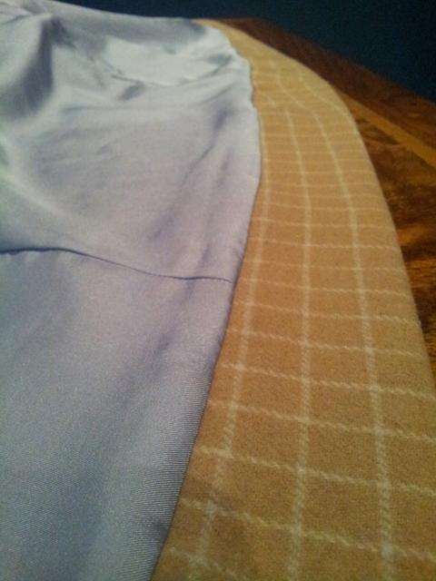 Jackie Coat Bagged Lining