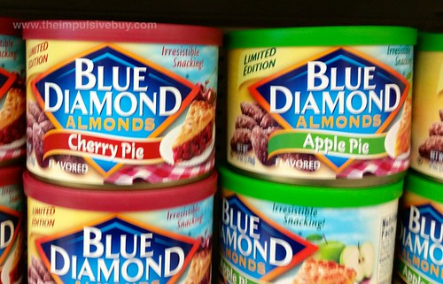 Blue Diamond Limited Edition Apple Pie and Cherry Pie Almonds