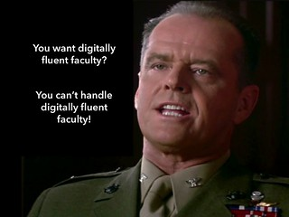 You want digitally fluent faculty?