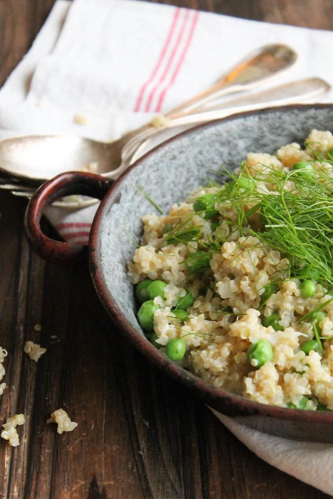 Risotto de quinoa