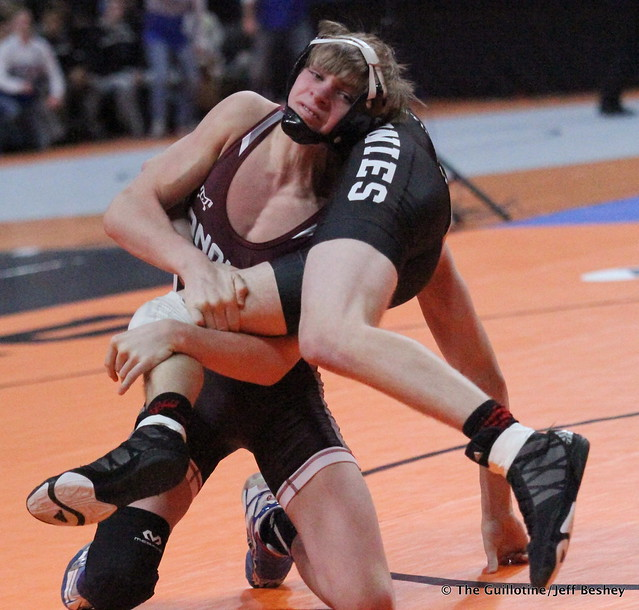 120 - Colby Njos (Anoka) over Andy Constant (Stillwater) Fall 1:48