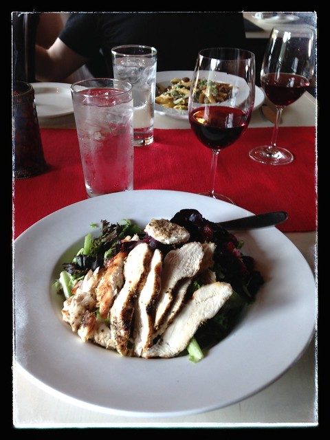 Lunch at Volcanic Hills Winery