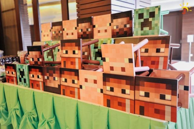 Santino S Minecraft Themed Party 7th Birthday Party Doll Manila