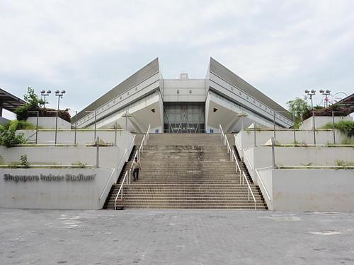 Mirador gratis, situado en Singapore Indoor Stadium, en Singapur
