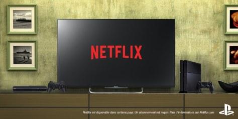 Netflix op PS4