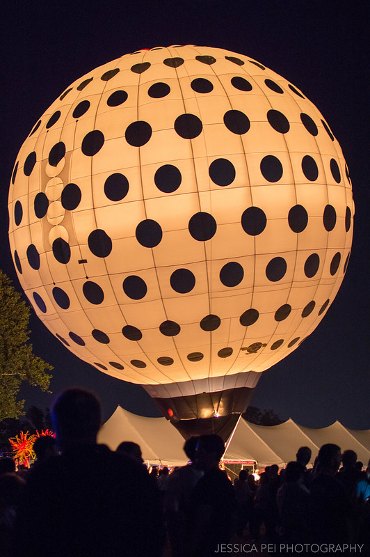 golf ball hot air balloon epcot