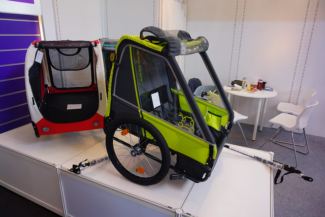 Eurobike 2014: More kids trailers