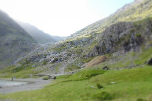 A week in Snowdonia.