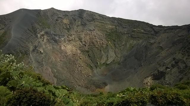 Irazu crater Cartago Costa Rica
