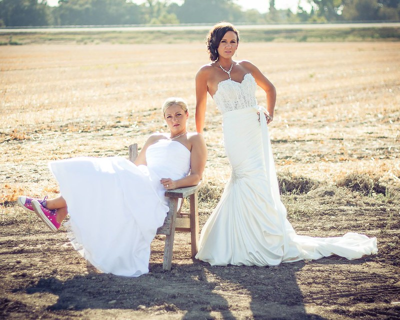 wedding pics Lesbian