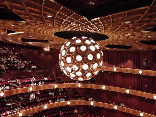 Chandelier at the David H. Koch Theater, Lincoln Center.