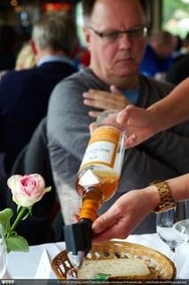 The Macallan Amber was een van de whisky's tijdens het eerste deel van de Whisky Cruise op de IJzer.