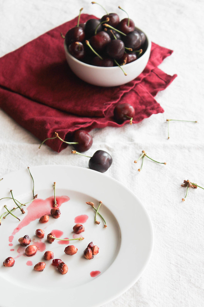 Brownie aux cerises {sans gluten - sans lait}
