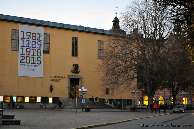 STOCKHOLM - Historiska museet