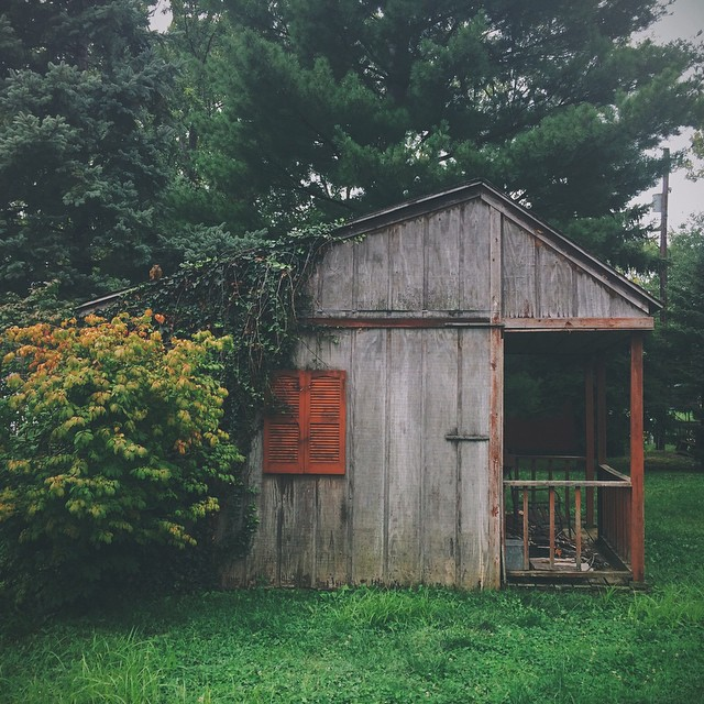 Indiana. {#vscocam #vsco #shed #midwest #igersindy #greenwood}