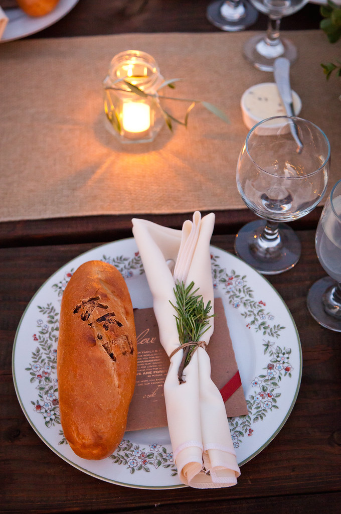 baguettes by Citron with mixed China