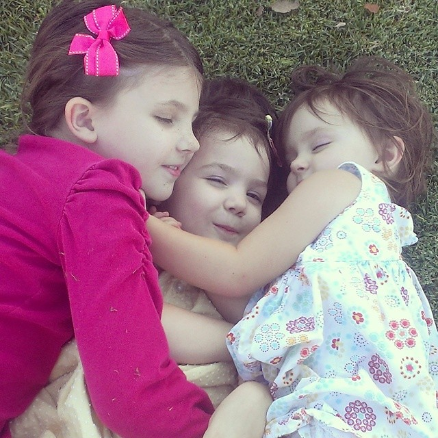 I love it when I find them in a little huddle of love. #bestsisters #homeschool