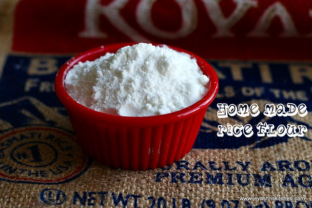 Home made - rice flour
