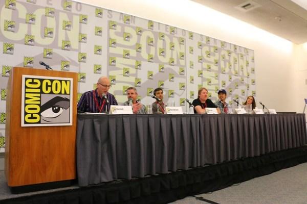 Big Hero 6 panel at San Diego Comic-Con 2014