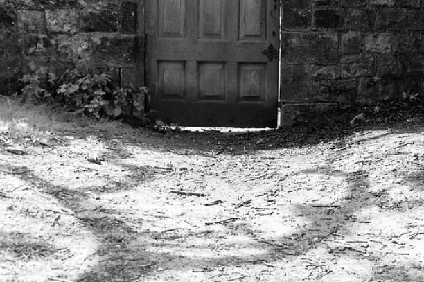Foreboding door