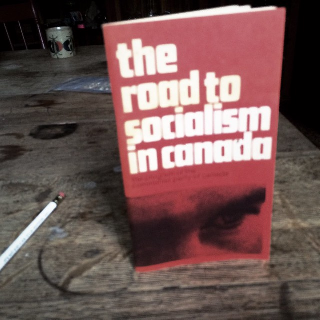 The Road to Socialism In Canada
